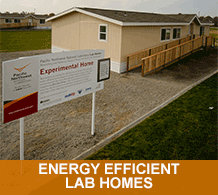 Energy Efficient Lab Homes